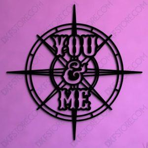 Compass Rose You & Me
