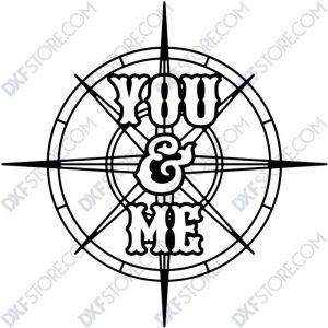 Compass Rose You & Me-4