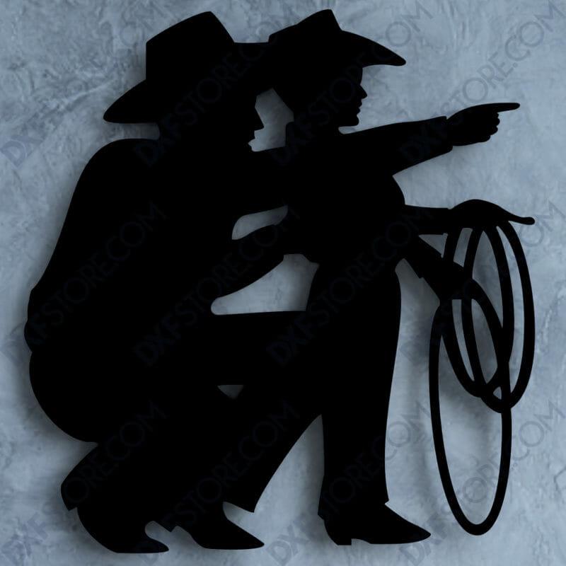 Cowboy Son Free DXF File