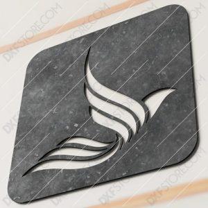 Custom Order - Custom Logo Metal Sign Plasma Cut DXF File Cut-Ready for CNC Plasma and Laser Cut