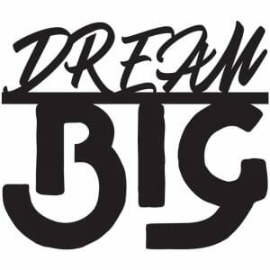 Dream Big Free DXF File