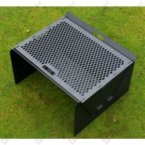 Fire Pit Collapsible Fire Pit BBQ Portable Outdoor Backyard and Camp Cooker for Laser Cut