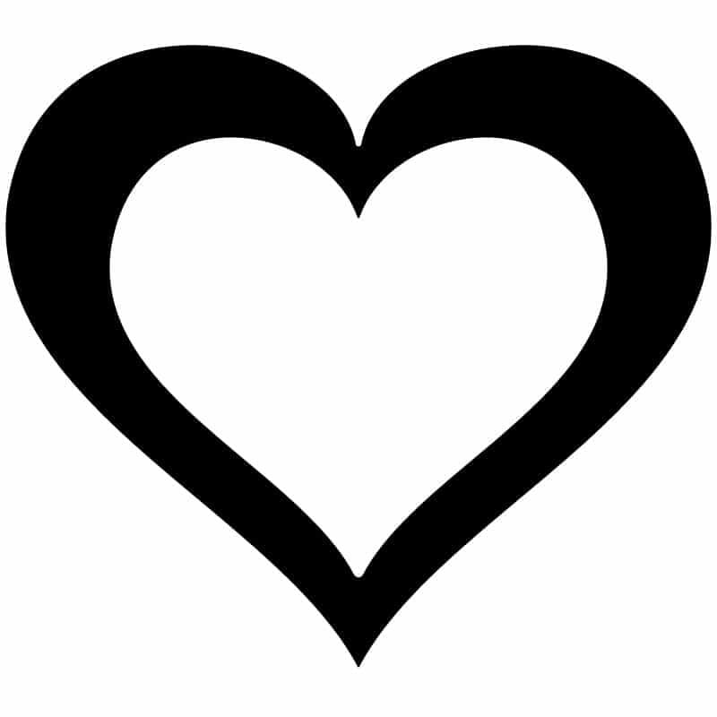 Heart-Decorative-Frame-Free-DXF-File