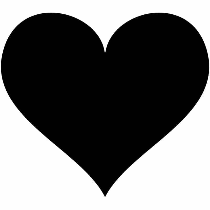 Heart-Free-DXF-File