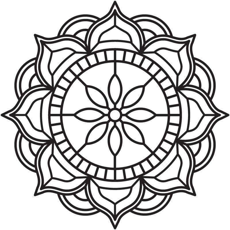 Mandala Wall Art - World Unity Skeleton