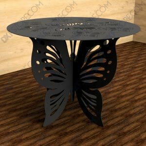 Ornamental Butterfly table with Decorative Butterfly Leg