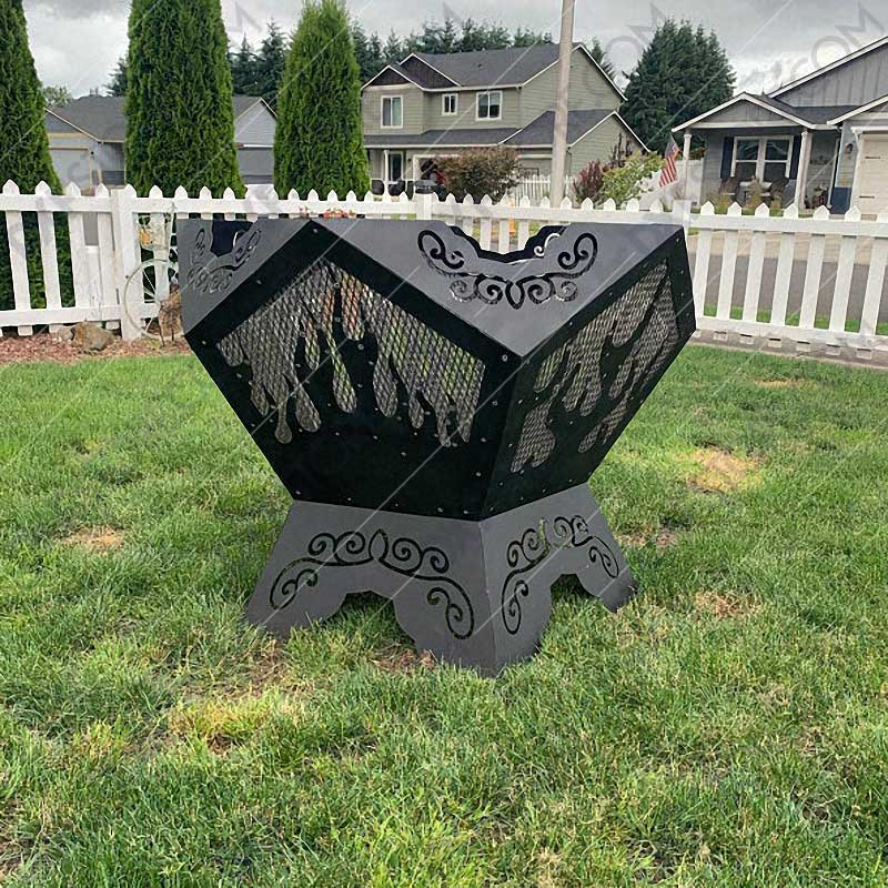 Pentagon Fire Pit 39in Base For CNC Plasma Cutter