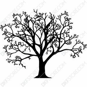 Tree Of Life - Tree Wall Art Plasma Art for CNC Plasma Cut Cut-Ready DXF File for CNC