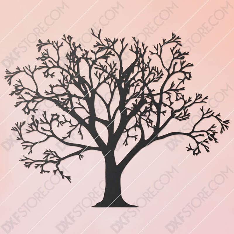 Tree Of Life - Tree Wall Art Plasma and Laser Cut for CNC Laser and Plasma Cutter