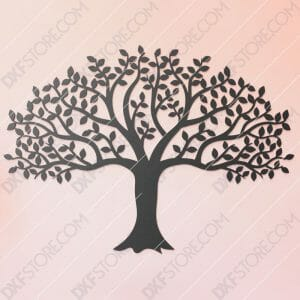 Tree Of Life Wall Art Downloadable for CNC Plasma Cut and Laser Cut