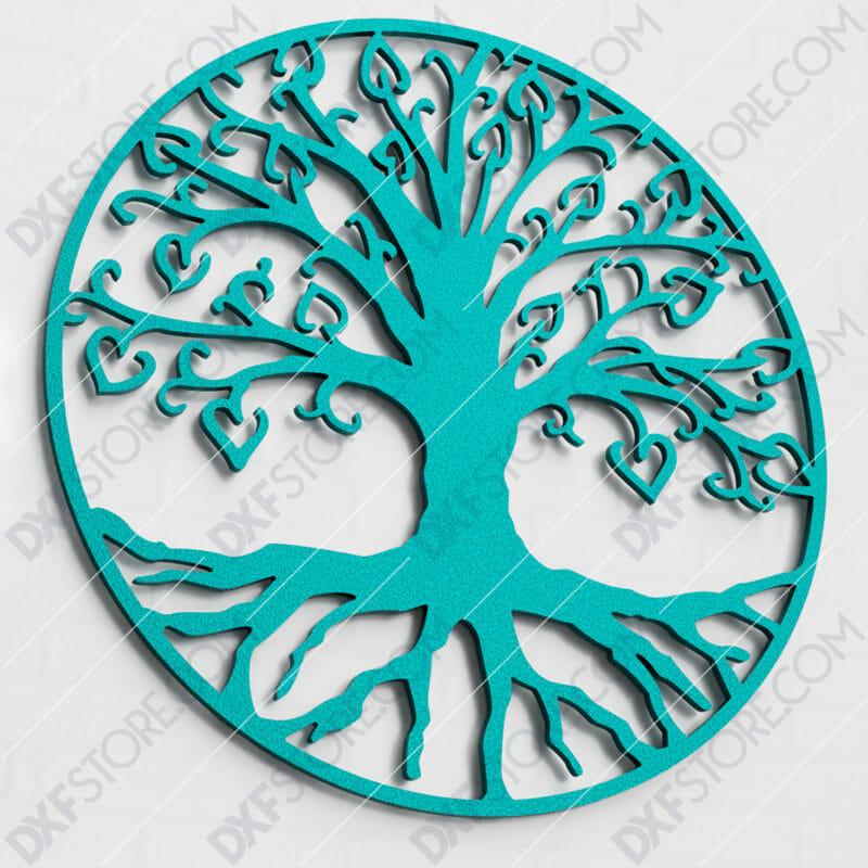 Tree of Life - árbol de la vida SVG CNC Laser Cut