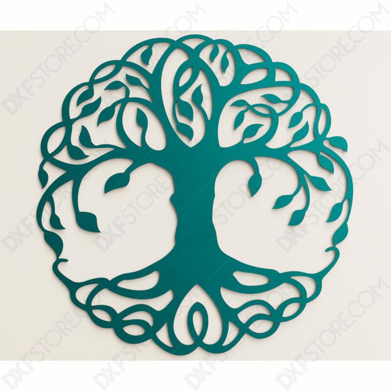 Tree of Life - Tree of Life Celtic DXF File