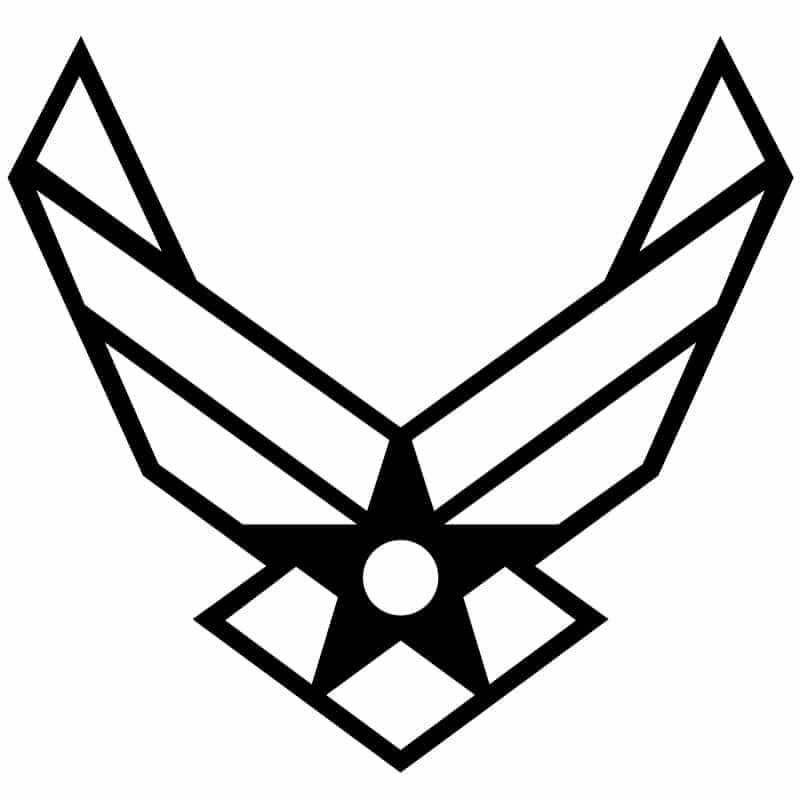U.S. Airforce logo DXF FIle