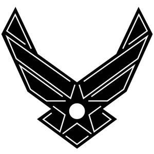 U.S. Airforce logo DXF fIle-2