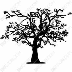 Tree Of Life Plasma Art DXF File Cut-Ready Plasma Cut DXF File Download for CNC Plasma and Laser Cut