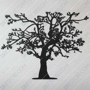 Tree Of Life Plasma Art DXF File Downloadable DXF for CNC Plasma DXF Files Download